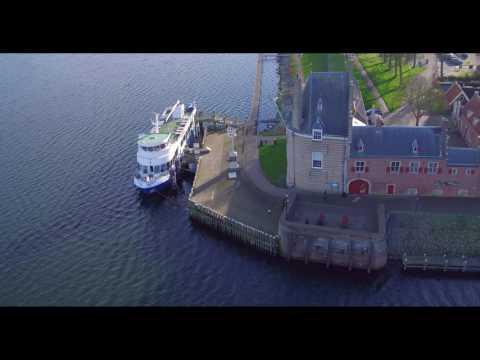 Dronevideo Veere Zeeland In 4K