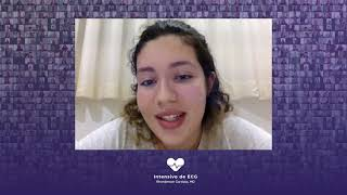 Depoimento aluna VIII Curso Intensivo de ECG - Larissa Maria