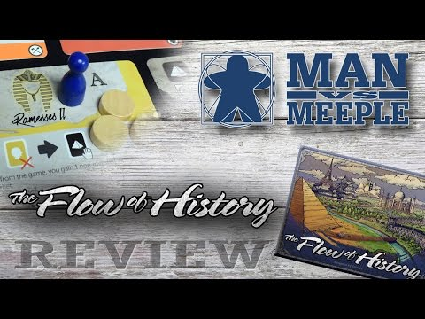 The Flow of History (TMG Games) Review by Man Vs Meeple