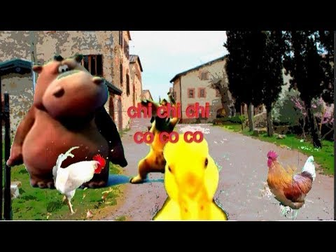 Happy Hippo and Dog Chi Chi Chi Co Co Co Remix Pippo Franco