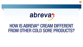 How is Abreva® Different? | Abreva® FAQ
