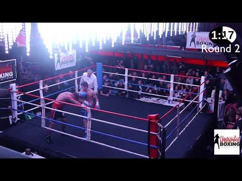 Undisputed Boxing  Darryl Winstanley VS Paul O'Keefe  171117
