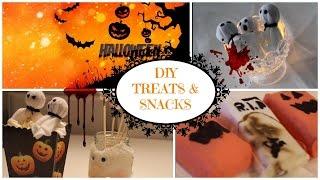 DIY treats and snacks ideas⎮HALLOWEEN Thumbnail