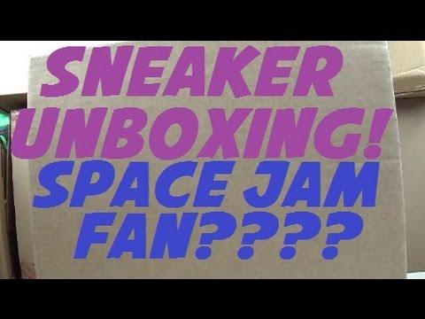 c97fd6ebf768 New Sneaker Unboxing For You SPACE JAM FANS!  MONSTARSBACK  SPACEJAM -  YouTube