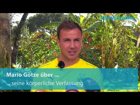Mario Götze über seine spezielle Hinrunde, die Tage in Marbella und die Ziele in dieser Saison
