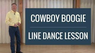 Cowboy Boogie - Line Dance Lesson