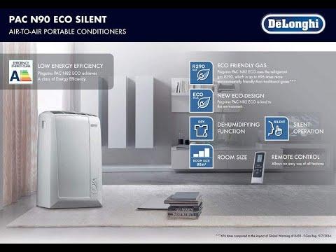 Delonghi Pinguino Air Conditioners Description Video & How To Set Up/Install Air Conditioners Hose
