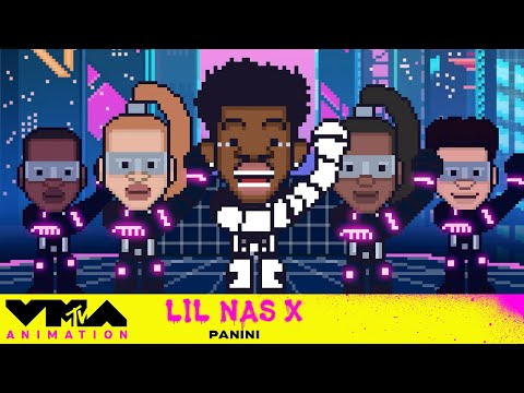 """Lil Nas X's 2019 VMA Performance of """"Panini"""" Gets Animated   VMAnimation"""