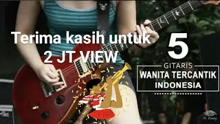 WAOW!!! Cantik bisa main gitar ??? || inilah gitaris cantik yang luar biasa-Sanni Zolla
