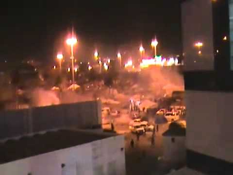 Clashes at Lulu Roundabout in Bahrain