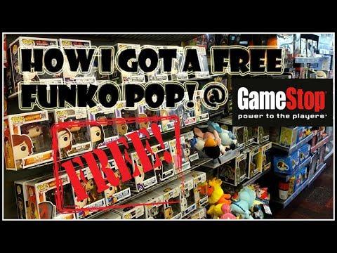 HOW I GOT A FREE FUNKO POP! @GAMESTOP