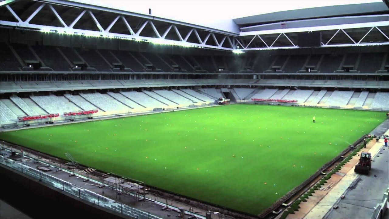 Clip grand stade lille m tropole youtube for Stand lille