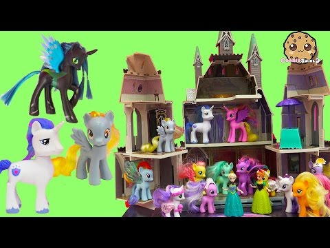 My Little Pony Princess Cadance, Shining Armor, Derpy, Queen Chrysalis Party with Queen Elsa en streaming
