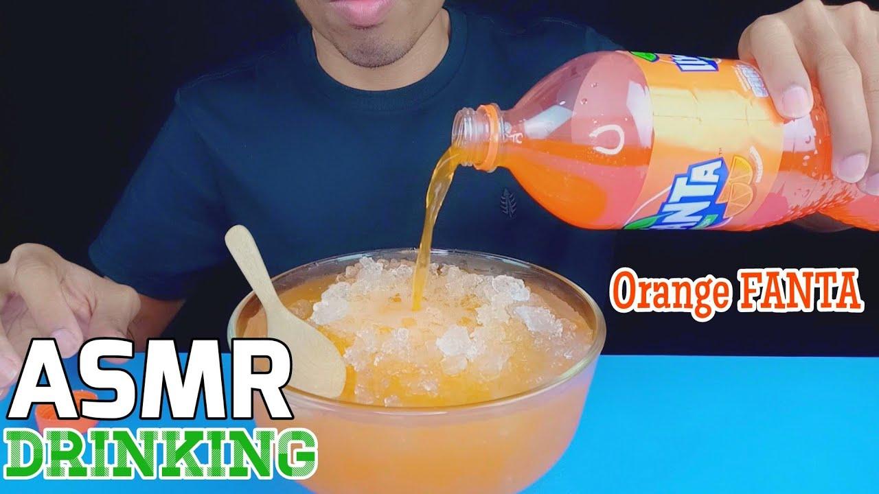 ASMR Drinking Orange FANTA ~ EXTREME FIZZY & ICE EATING | EP.64 I BoonTube