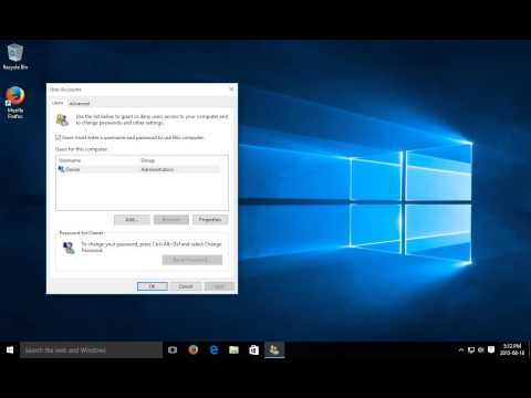 ✔️ Windows 10 - Automatic Login - Automatic Sign In - Sign In Automatically