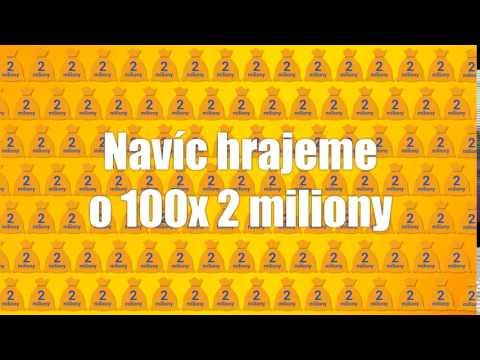 Ve Sportce nyní hrajeme o 100x2 miliony Kč!