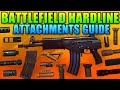 Battlefield Hardline Ultimate Attachments Guide + Best Combinations