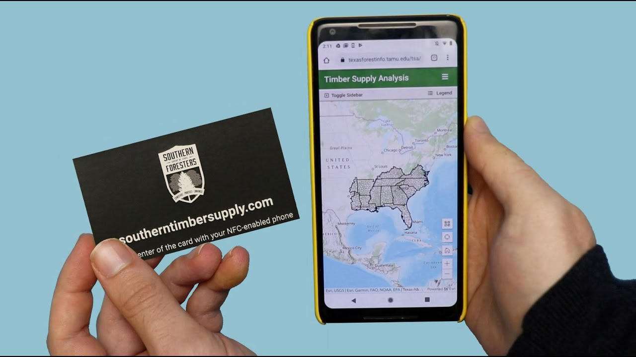 nfc business cards southern timber supply analysis