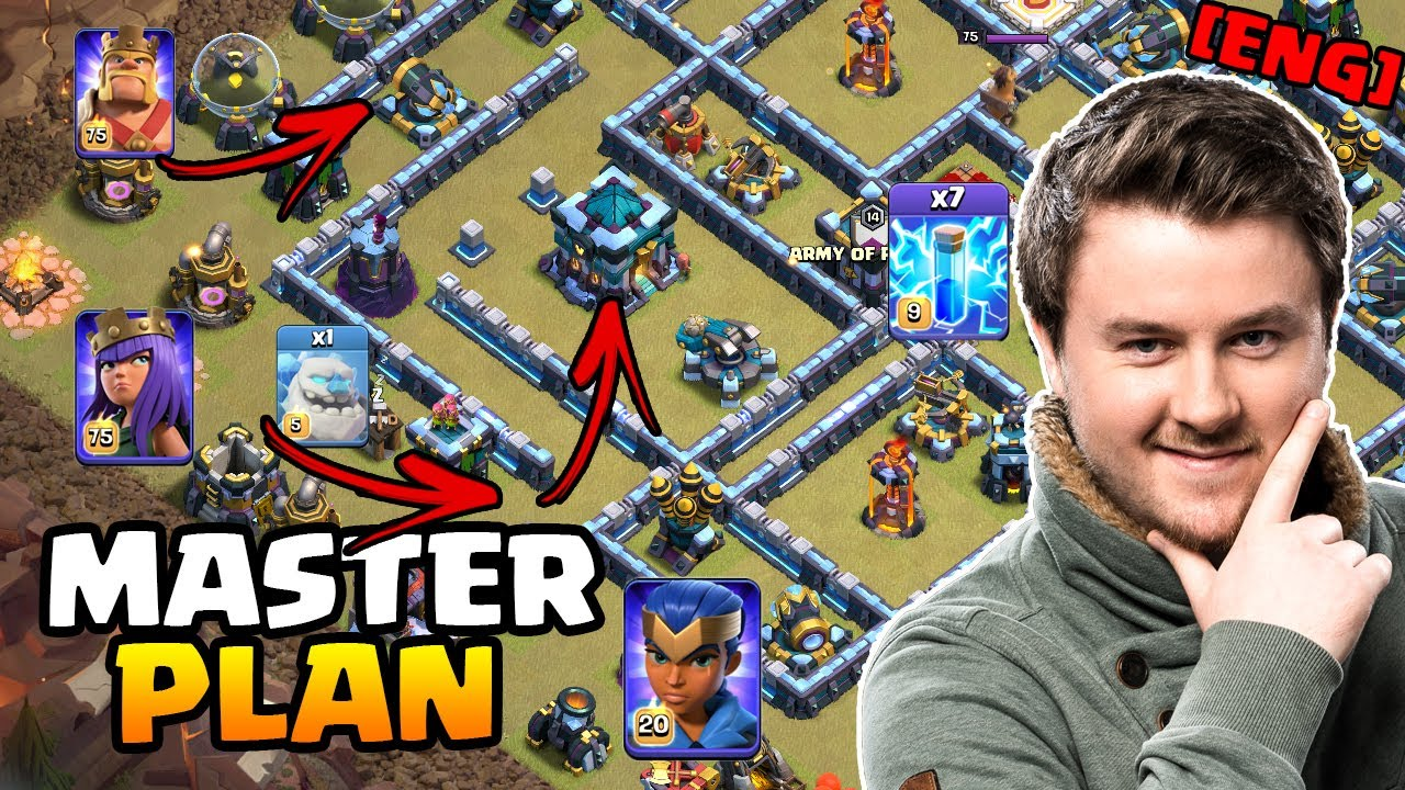 How to Plan a ZAP LaLo Attack | Live Planning + Attack | #clashofclans | iTzu [ENG]
