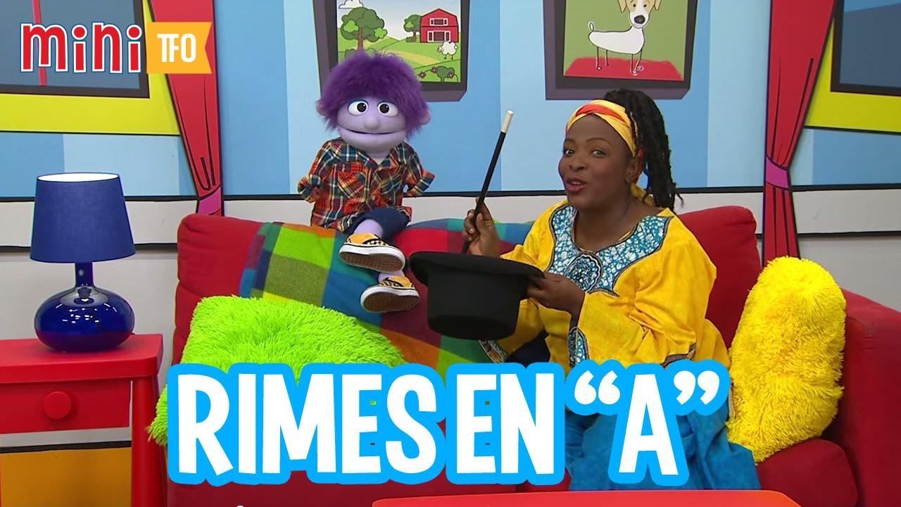 Mini rimes rimes en a youtube - Rime en u ...