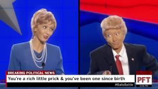 trump vs hillary rap battle who has the biggest balls reupload