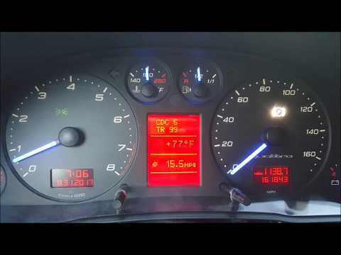 Audi A6 C5 Cluster LCD Replacement