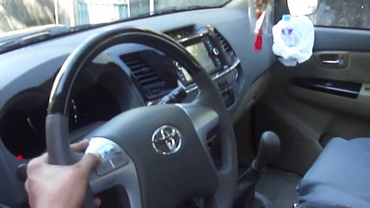 Toyota Fortuner 2013 Model Youtube