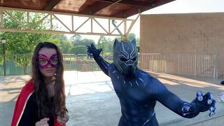 SURPRISE VISIT FROM ANOTHER WORLD, SUPERHEROES NEED TO DEFEAT!!