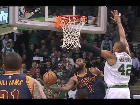 Kyrie Irving SICK Reverse Lay-Up vs. the Celtics | 03.01.17