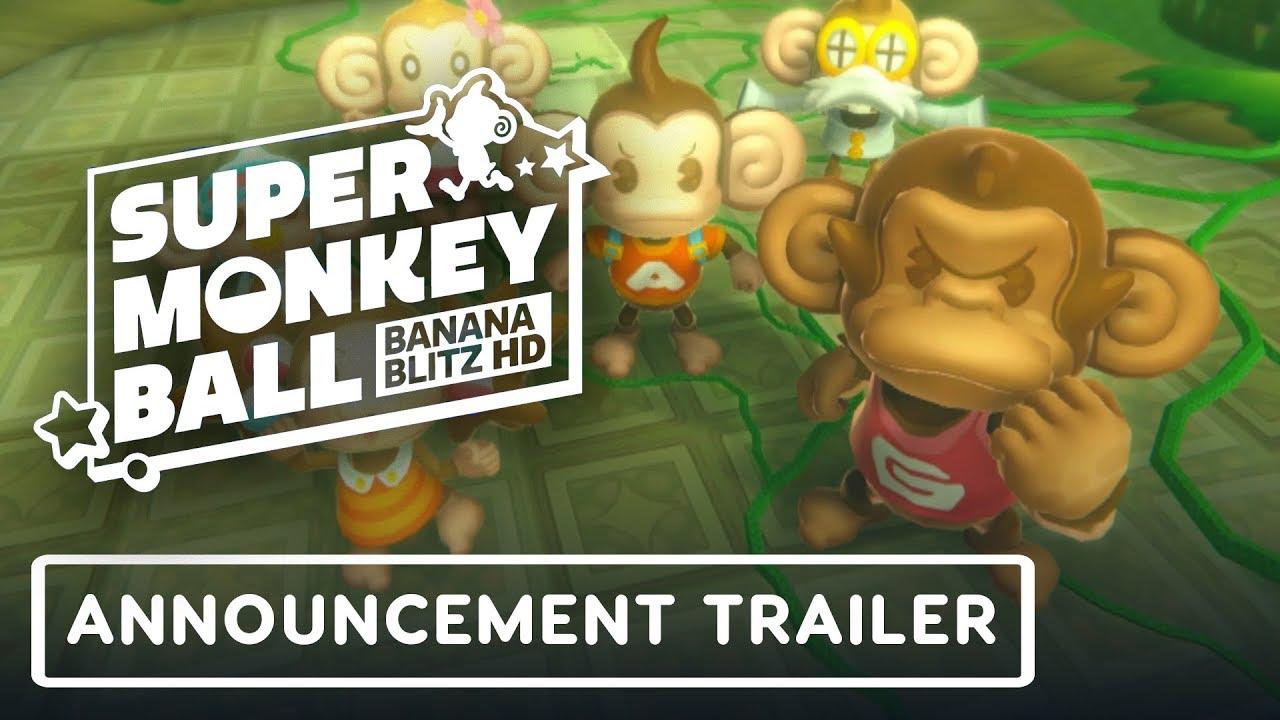 Super Monkey Ball: Bananenblitz HD - Ankündigungstrailer + video