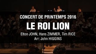 Gambar cover The Lion King - Live concert band - Medley by John Higgins