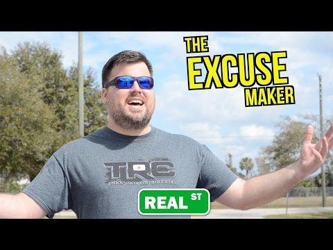 Racing Excuses 101 - Don't be that guy