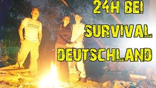 Survival Deutschland - 24h Bushcraft & Fun #077