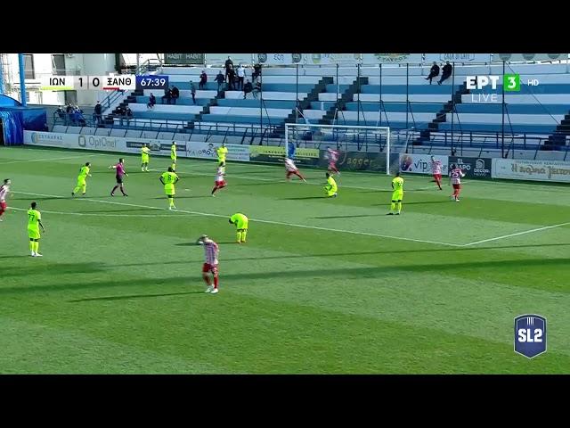 <span class='as_h2'><a href='https://webtv.eklogika.gr/super-league-2-ionikos-xanthi-gkol-1-1-06-03-2021-ert' target='_blank' title='Super League 2 | Ιωνικός-Ξάνθη: ΓΚΟΛ 1-1 | 06/03/2021 | ΕΡΤ'>Super League 2 | Ιωνικός-Ξάνθη: ΓΚΟΛ 1-1 | 06/03/2021 | ΕΡΤ</a></span>