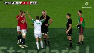 Referee Romain Poite's controversial change of mind