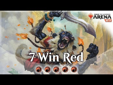 The Color Challenge - Ep. 5 - Mono Red Aggro MTG Arena Deck Guide and Gameplay