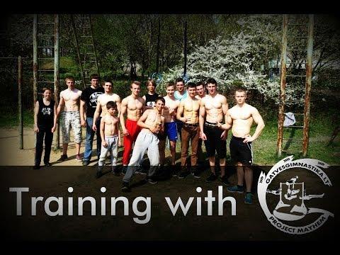 Treniruotė su Project Mayhem komanda | Training with Project Mayhem team | STREET WORKOUT