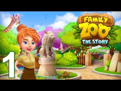 FAMILY ZOO The Story Walkthrough Gameplay - Day 1 (iOS Android)