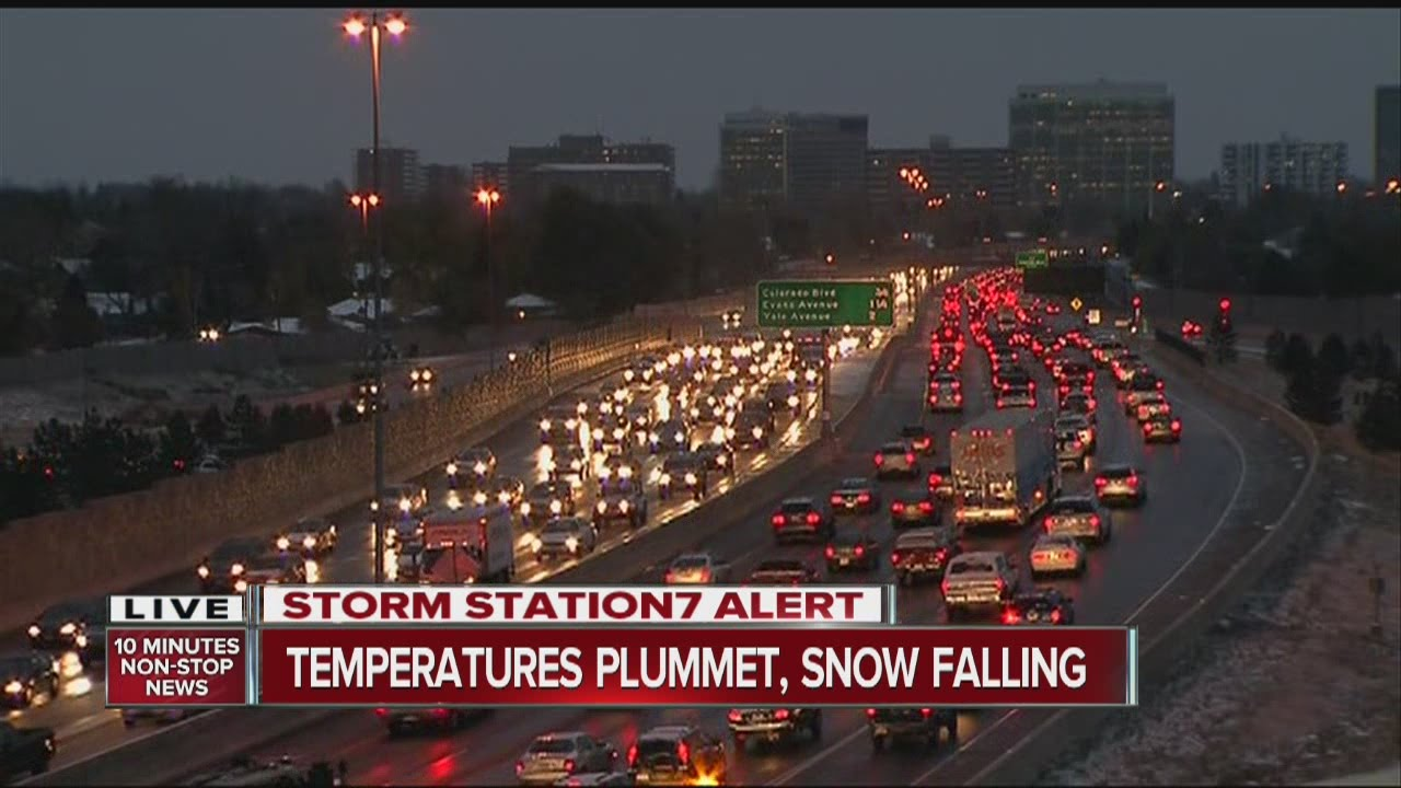 Denver Weather: Snow Hits Colorado As Temperatures Plummet