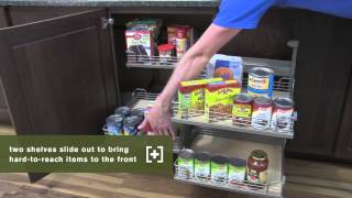 Schuler Cabinetry: Base Blind Corner With Full-access Tray, Kitchen Storage Part 19