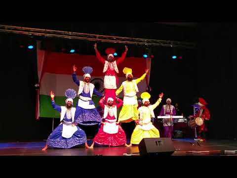 16  Bhangra by Lions Of Punjab   70 Years of Indian Independence Celebrations, Peterborough