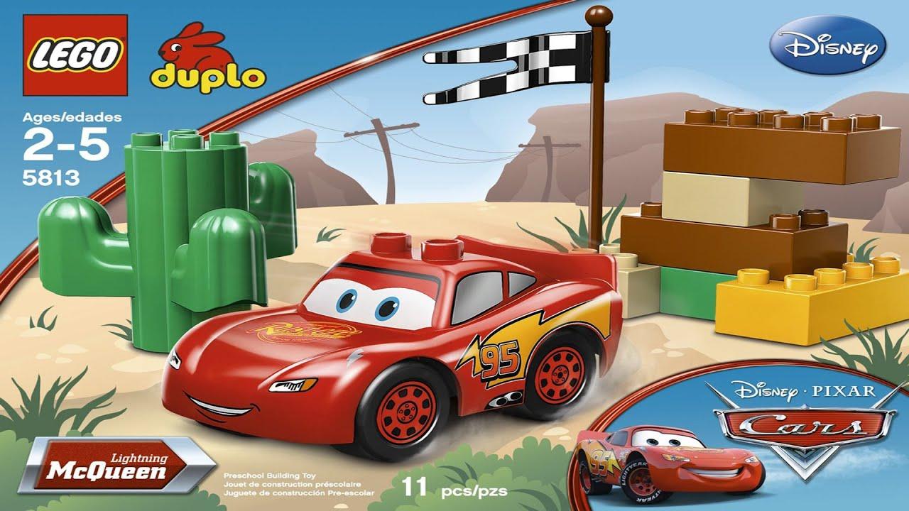 Lightning McQueen Lego Duplo Desert Playset - Toy Review