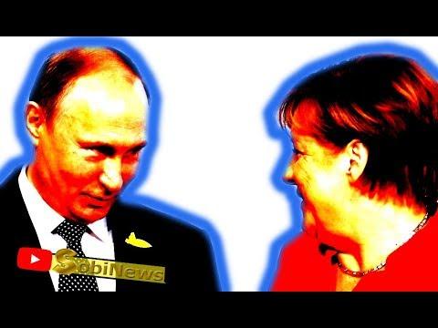 Почему Германия Меркель так любит Россию Путина? Андрей Корчагин SobiNews