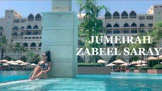 Jumeirah Zabeel Saray Hotel 2021 ОБЗОР отеля Jumeirah Zabbel Saray Palm DUBAI Vlog 1