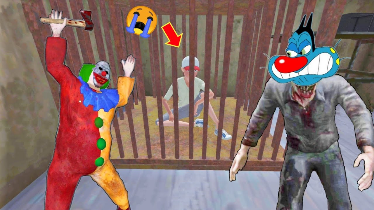 Clown Ne Dost Ko Kidnapped Keya   CoulroPhobia With Oggy and Jack