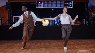 Jamin Jackson & Annie Trudeau Showcase Greenwood Swingout 2015