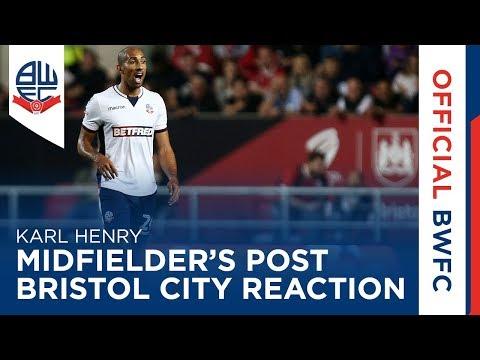 KARL HENRY | Midfielder's post-Bristol City reaction