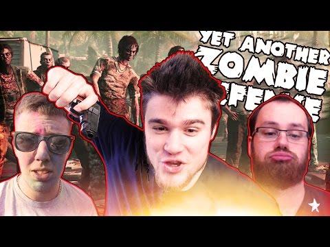 Yet Another Zombie Defense [#6] - TAKTYKA CZTERECH WIEŻYCZEK! (W: Admiros, Mati, Flarek) /Zagrajmy