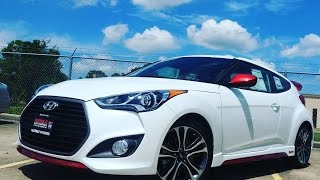 Custom 2016 Hyundai Veloster (R-Spec & Turbo) Start Up/ Overview(Check me out on Instagram, Twitter, or Facebook!! FB: www.facebook.com/GrandPrixGTP02 Twitter: @theopenroadtx15 Instagram: @grandprixgtp02 Music ..., 2016-08-04T22:51:46.000Z)
