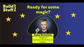 #10 e-Meetup Special | Magic time with the magician & Guinness World Record Holder Rokas Bernatonis